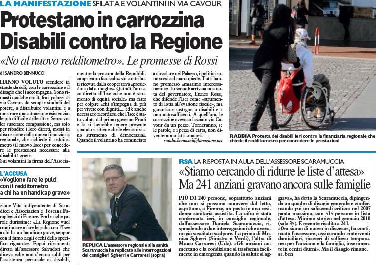 ... è stata una manifestazione promossa dall Associazione Vita Indipendente  e Toscana Paraplegici a7f9237a0f0c